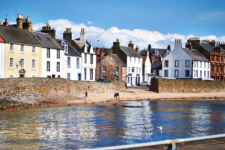 Anstruther, fishing village in Fife